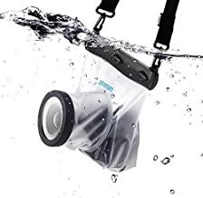 zonman DSLR Camera Univeral Waterproof Underwater Housing Case Pouch Bag for Canon Nikon Sony Pentax Brand Digital SLR Cameras