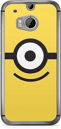 Minion HTC One M8 Transparent Edge Case - Eye Simple