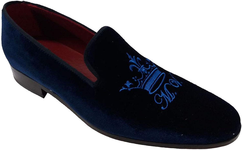 Garofalo Gianbattista , Herren Hausschuhe dunkelblau