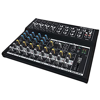 Mackie Mix Series 12-Channel Compact Effects Mixer with Studio-Level Audio Quality and FX  Mix12FX