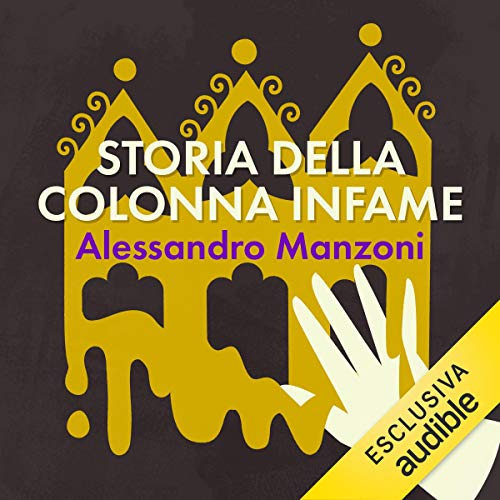 Storia della colonna infame audiobook cover art