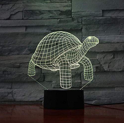 Night Light Turtle 16 Couleurs Lampe de Table Led Night Light pour Enfants Cadeau Home Decor Éclairage