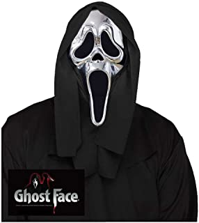 Silver Ghost Face Mask - Scream 25th Anniversary Edition