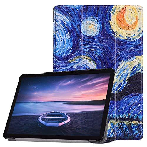 Lobwerk móvil para Samsung Galaxy Tab S4SM de T830SM de T835SM de T83710.5Pulgadas Funda Smart Cover con Auto Sleep/Wake + Touchpen Azul C06