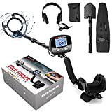 Professional Metal Detector for Adults, Adjustable 9 Identification Levels & 10 Levels of...