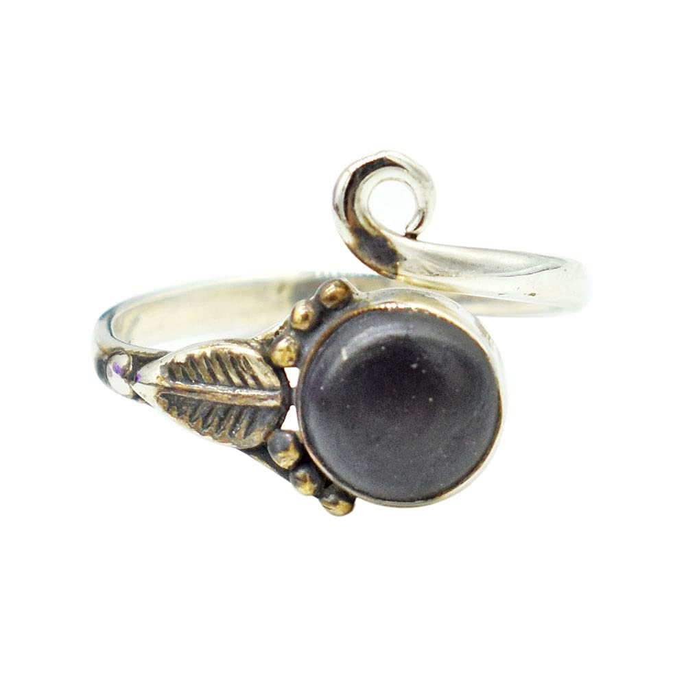 Real Regular discount Shungite Stone Ring Original Recommended Shungi Healing