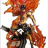 One Piece Anime Figure Portgas D Ace Action Figure 15Th Anniversary One Piece Ace Figurine Barbabianca Pirati Figura 35 Cm Giocattoli