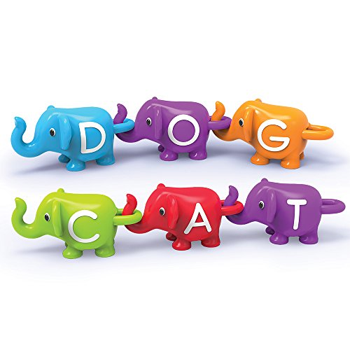 Learning Resources Snap-n-Learn ABC Elephants, Educational Toys, Alphabet Elephant Toy, Ages 2+