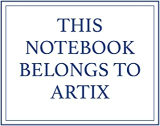 This Notebook Belongs to Artix