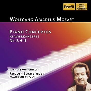 Mozart: Piano Concerto Nos. 5, 6 and 8 / Rondo in D Major
