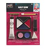 SUIT YOURSELF Suicide Squad Harley Quinn Makeup Supplies for Adults, with Cream Makeup, Lipstick, Applicator, and More