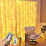 Vivibel 【 3M*3M 】 LED Lichtervorhang