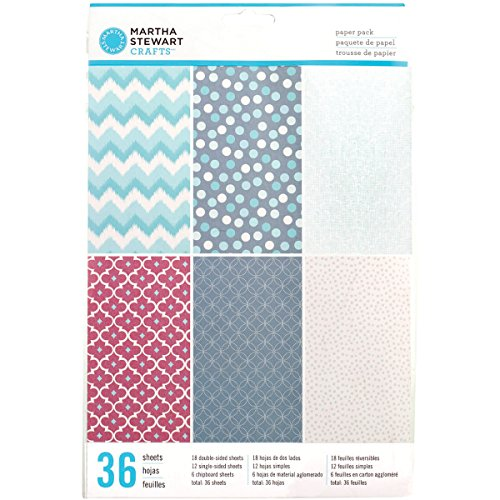 Martha Stewart Book Making Paper Pack 36/Pkg-