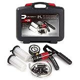 Powerbuilt 648744 Vacuum Pump Set with Hoses, Plastic Reservoir and Plastic Adaptors