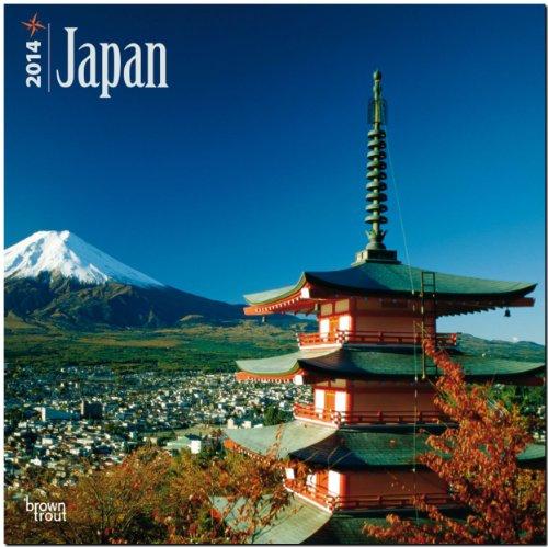 Japan 2014: Original BrownTrout-Kalender [Mehrsprachig] [Kalender]