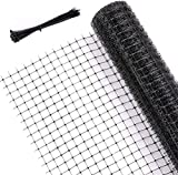 Ohuhu 6.6 X 65 FT Heavy Duty Bird Netting for Garden, PP Material...