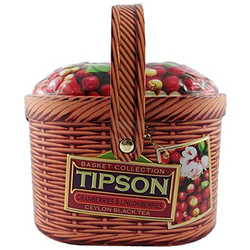 Basilur Ceylon Schwarztee Tipson Cranberries & Lingonberries lose Tee Geschenke