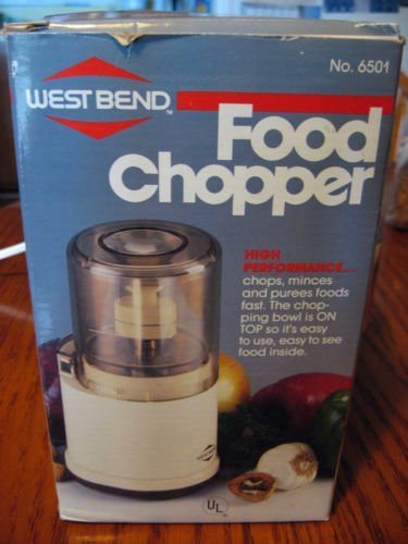 Find Discount West Bend Food Chopper 6501