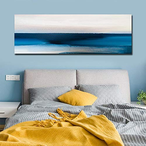 XIANGPEIFBH Big Size Living room and Bedroom Decor Abstract Canvas Painting Modular pictures and posters Decorative Canvas Prints 50x150cm(20'x59') Unframed