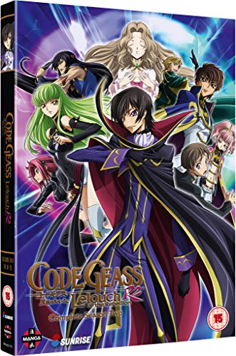 Code Geass: Lelouch of the Rebellion: Complete Season Two - DVD