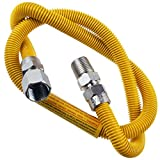 Supplying Demand 203-3132 Dryer Gas Hose With Fittings Compatible With 1/2