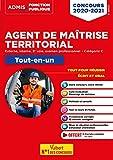 Concours Agent de maîtrise territorial - Catégorie C - Tout-en-un - Annales 2019 incluses -Externe, interne, 3e voie, examen professionnel - Concours 2020-2021