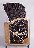3-Sitzer Strandkorb Kampen Mocca - 3