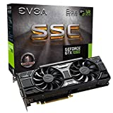EVGA GeForce GTX 1060 6GB SSC GAMING ACX 3.0, 6GB GDDR5, LED, DX12 OSD Support (PXOC) Carte...