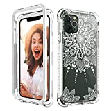 CASY MALL Case for iPhone 11 Pro Max, Shockproof Series Hard PC+TPU Bumper with Front PC Frame(Without Built-in Screen Protector) for Apple iPhone 11 Pro Max 6.5 Inch 2019 Release Crystal