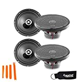 Focal Auditor Bundle - Two Pairs of Focal RCX-165 Auditor Series 6.5' 2-Way Coaxial Speakers