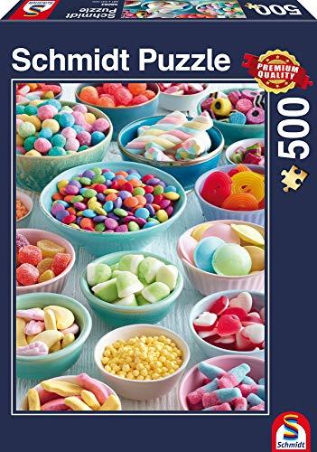 Schmidt spel puzzel 58284 - puzzel 500 delen, zoete lekkernijen