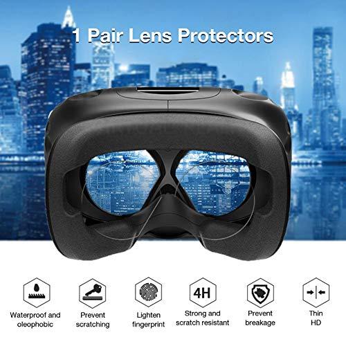 Oddity Objektträger-Deckgläser für Oculus Quest Oculus Rift S Oculus Go Objektivschutzfolie für virtuelle Realität, Kratzfest, blasenfrei