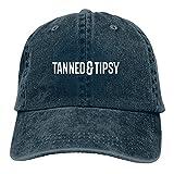 Jopath Tanned and Tipsy-2 - Gorra de béisbol ajustable para hombre y mujer, de algodón, lavable
