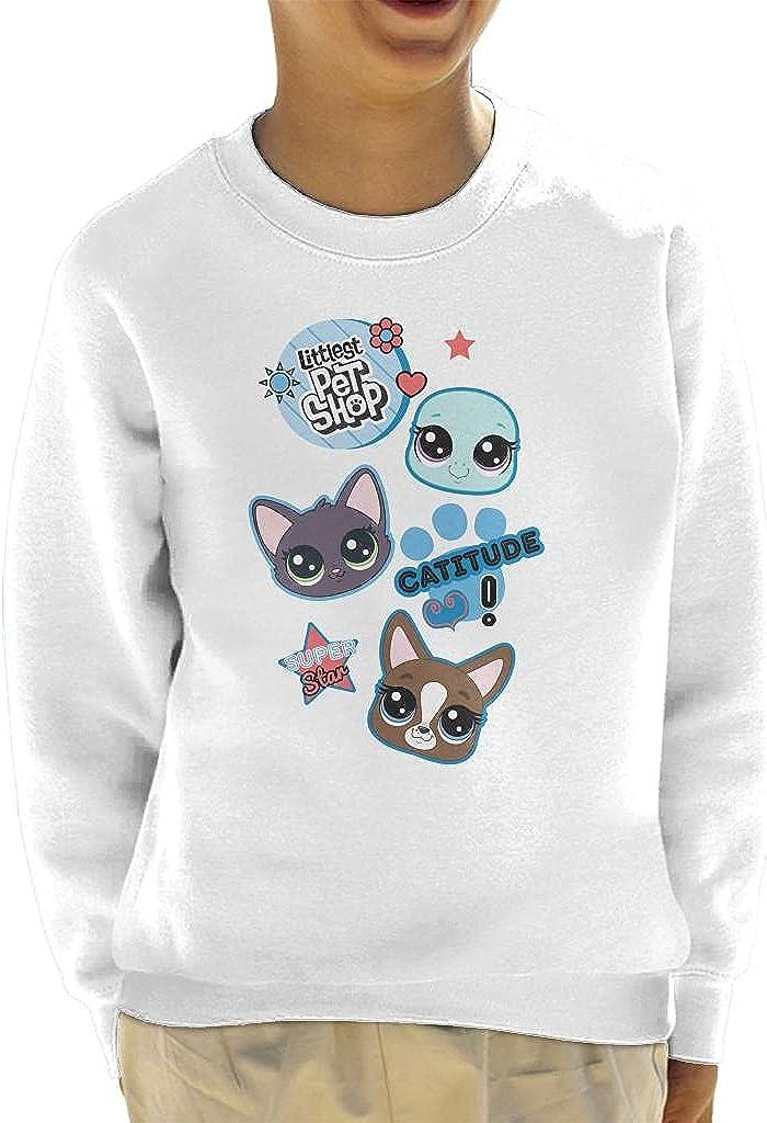 Littlest Pet Shop Jade Catkin Catitude Kid's Sweatshirt