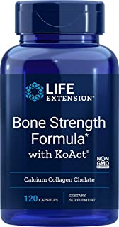 Life Extension Bone Strength Formula with KoAct 120 Capsules