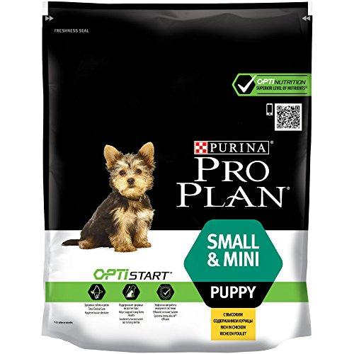 PURINA Pro Plan Comida Seco para Cachorros Pequeños y Mini con Optistart, Sabor Pollo - 700 g