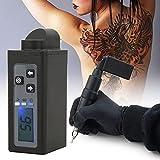 Alimentatore per tatuaggio Dual Digital Tattoo Power Box, Power Bank Wireless LED Batteria portatile portatile 2000mAh per adattatore DC per macchinetta per tatuaggi