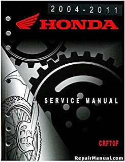 61GCF56 2004-2011 Honda CRF70F Service Manual