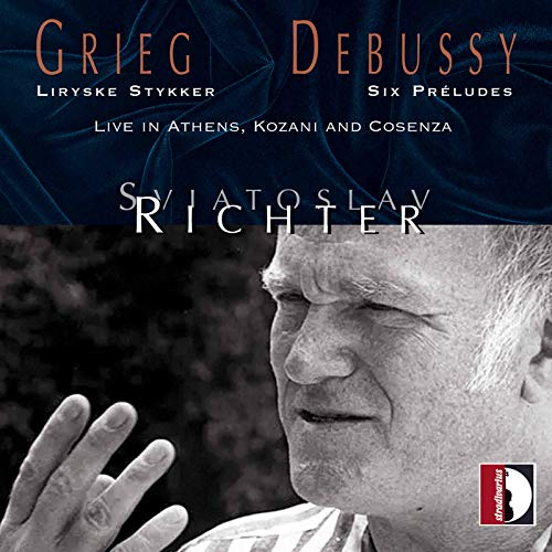 Edvard Grieg, Claude Debussy: Live in Athens, Kozani and Cosenza - Sviatoslav Richter
