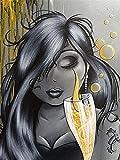 Bordado De Diamantes Redondos Completos Cómic De Dibujos Animados 5D Diy Pintura De Diamantes Punto De Cruz Fat Lady Set Completo Redondo 3D Mosaico De Diamantes Chica 50X70cm