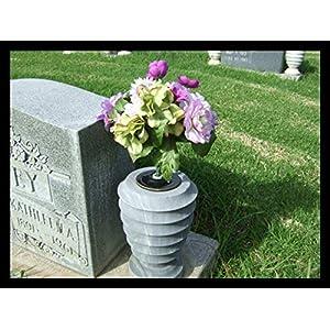 Cemetery Flower Holder from Vasesaver for 3.5 inch Vase