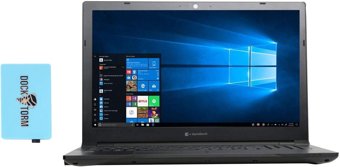 Toshiba Dynabook Tecra A50-F Home & Business Laptop (Intel Celeron 4205U 2-Core, 16GB RAM, 512GB m.2 SATA SSD, Intel HD 610, 15.6