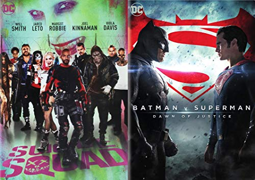 DC Comics Squad of heroes Movie 2 Pack DVD Bad Guys Suicide...