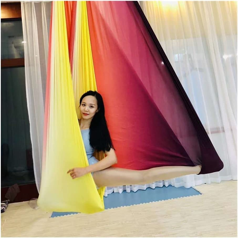 MMI-LX All stores are sold LCONG Aerial Yoga Hammock Colourful 5M El Ranking TOP18 Multifunctional