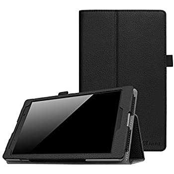 Fintie Case for Lenovo Tab 4 8 - Premium PU Leather Folio Cover with Stylus Holder for Lenovo Tab4 8-Inch Android Tablet  2017 Release  Black