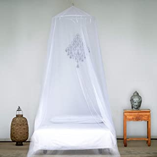 Patgoal Patgoal Luxury Princess Pastoral Lace Bed Canopy Net Crib Round Hoop Princess Girl Pastoral Lace Bed Canopy Mosquito Net Fit Crib Twin Full Queen Extra large Bed
