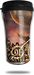 NFJHYR Guns Of Icarus Online Food Grade ABS Coffee Cup With Cover