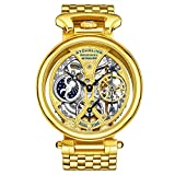 Stuhrling Original Men's Automatic Watch with Gold...