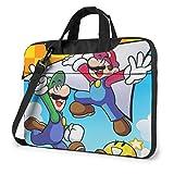 Super Smash Bros Mario - Maletín para portátil (15,6 pulgadas)