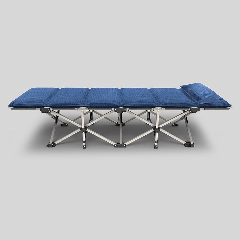 HAMIMI Folding Bltter Menschen Büro Nickerchen Bett Mittagspause Recliner Hause Einfachen Tragbaren Feldbett Klappstuhl (Farbe   A-Headrests)